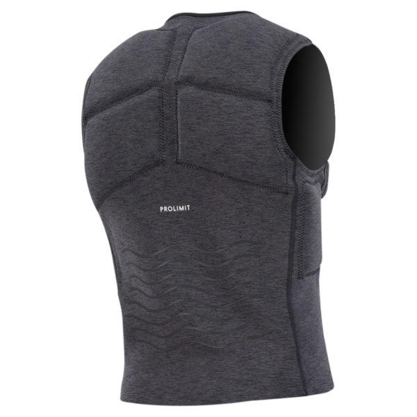 Prolimit Vest Mercury Frontzip black_back