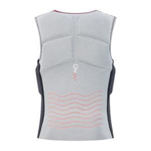 Prolimit Womens Oxygen Vest grey_black_wine_back