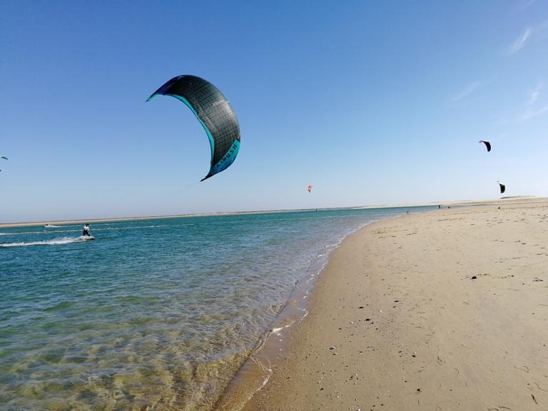 Kitesurfen in Faro