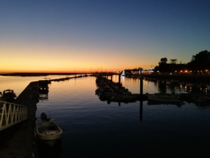 Sonnenuntergang Faro